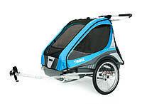 Детская коляска Thule Chariot Captain 2 (Blue), фото 1