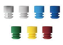 Пробка Promed® для пробірок діаметр 12 мм, 1000 шт.