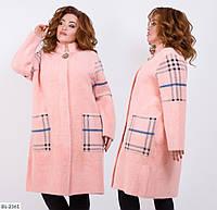 Женское пальто альпака с подкладкой 7 км Одесса 52-56 размеры есть цвета