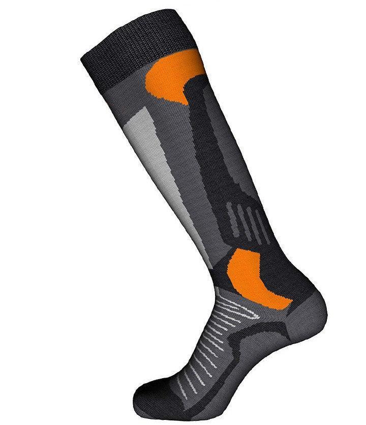 Шкарпетки лижні Emmitou Black-Grey-Orange 38-40