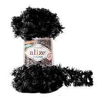 Alize Puffy Fur № 6101 черный