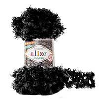 Alize Puffy Fur № 6101 черный