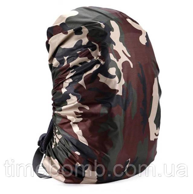 Водонепроницаемый защитный чехол для рюкзака камуфляжный
