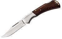 Нож складной, материал рукояти- венге, коричневого цвета, влагоустойчив, удобный, хороший подарок для туриста