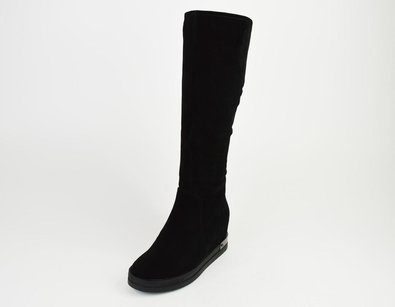 Сапоги зимние замшевые 34-35 размеров Erises 0617