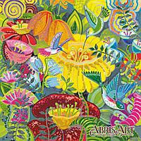 """Схема для вышивки бисером на натуральном художественном холсте """"Тропическое утро"""""""