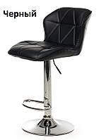 Барный стул B-70 черный искусственная кожа Vetro Mebel