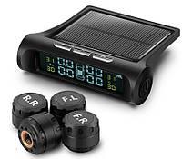 Система контроля давления и температуры в шинах VISTURE TPMS с внешними датчиками и солнечной панелью