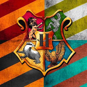 """""""Гарри Поттер"""" - Вымпел Треугольники, 10 шт. флажков"""