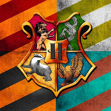 """Гарри Поттер"" - Вымпел Флажки, 12 шт. флажков"