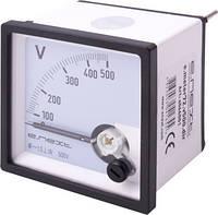 Вольтметр щитовой e.meter72.v500.dir AC 500В прямого включения