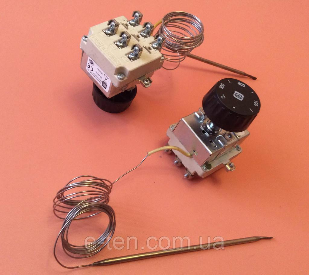 Терморегулятор трёхполюсный/трёхфазный капиллярный MMG: Tmax=300°С / 16А - 400V / L=220см          Венгрия