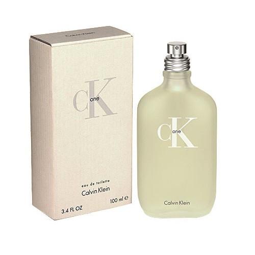 Calvin Klein CK One туалетная вода 100 ml. (Кельвин Кляйн Си Кей Уан)