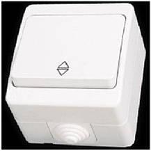 Nemli выключатель промежуточный 1-ый влагозащищенный белый, фото 3