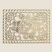 Прямоугольное донышко для вязанных корзин Shasheltoys (100304.175) 175х245 мм