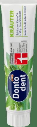 Зубна паста Dontodent Krauter 125 мл Німеччина