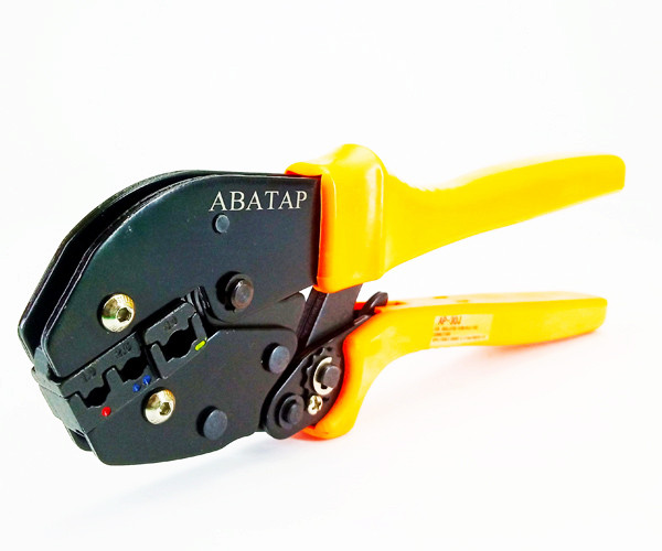 Клещи обжимные АВаТар AP-30J d 0.5 – 6.0 кв. мм оранжевые (ST 51 05 13)
