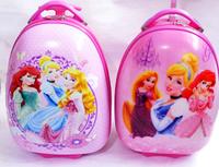 """Детский пластиковый  чемодан """"Princess"""" на 2 колесах"""