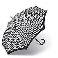 Черно-белый зонт трость Pierre Cardin ( автомат/полуавтомат ) арт. 82355-2, фото 1