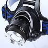Налобный фонарик Т6 с зумом, налобный фонарь, фото 8