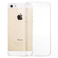 Чехол Ou Case для iPhone SE/5S/5 Unique Skid Silicone, Transparent
