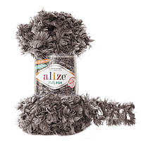 Alize Puffy Fur № 6105 коричневый