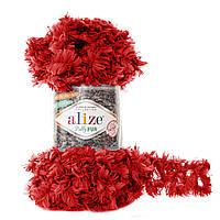 Alize Puffy Fur № 6109 красный