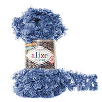 Alize Puffy Fur № 6116 синий