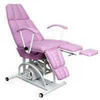 Педикюрно-косметологическое кресло КП-3 с гидравлическим регулятором высоты