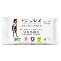Органические салфетки Eco by Naty без запаха 56 шт, фото 1