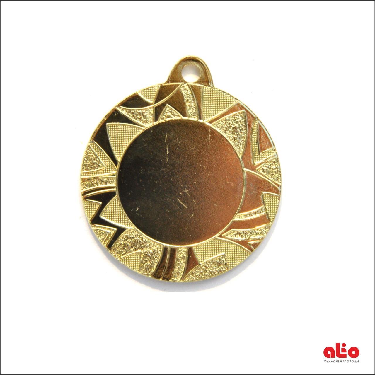 Медаль Д257 золото 40 мм