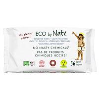 Органические салфетки Eco by Naty с легким запахом 56 шт, фото 1