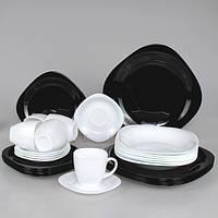 Столовый сервиз Luminarc Carine Black&White 30 предметов