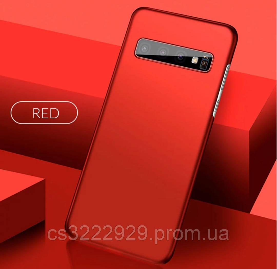 РОЗПРОДАЖ! Чохол для Samsung Galaxy S10 Plus червоний