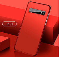 РОЗПРОДАЖ! Чохол для Samsung Galaxy S10 Plus червоний, фото 1
