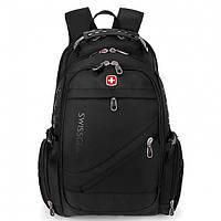 Рюкзак Swissgear 8810 черный big 54х34х23 городской армейский
