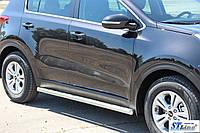 Ford Galaxy (06-15) боковые пороги подножки труба на для Форд Галакси Ford Galaxy (06-15) d60х1,6мм