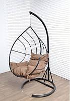 Подвесное кресло-гамак в стиле лофт.