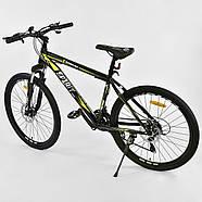Велосипед Спортивный Corso Spirit 26 дюймов JYT 001 - 2261 Black-Yellow Собран на 75%, фото 3