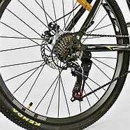 Велосипед Спортивный Corso Spirit 26 дюймов JYT 001 - 2261 Black-Yellow Собран на 75%, фото 7