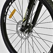 Велосипед Спортивный Corso Spirit 26 дюймов JYT 001 - 2261 Black-Yellow Собран на 75%, фото 8