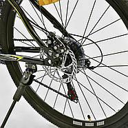 Велосипед Спортивный Corso Spirit 26 дюймов JYT 001 - 2261 Black-Yellow Собран на 75%, фото 6
