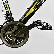 Велосипед Спортивный Corso Spirit 26 дюймов JYT 001 - 2261 Black-Yellow Собран на 75%, фото 5