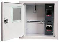Шкаф распределительный e.mbox.stand.w.f1.04.z.e под однофазный электронный счетчик+ 4 мод.страиваемый с замком
