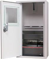 Шкаф e.mbox.stand.n.f1.08.z.е металлический, под 1-ф. электронный счетчик, 8 мод., навесной, с замком