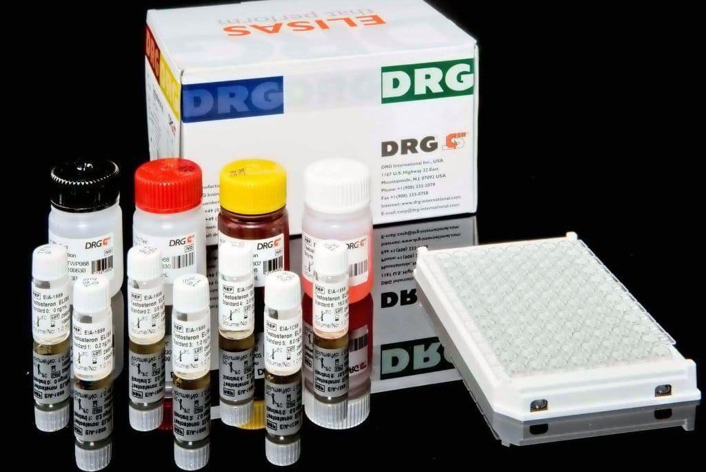 DRG Аскаридоз IgG, 96 визначень