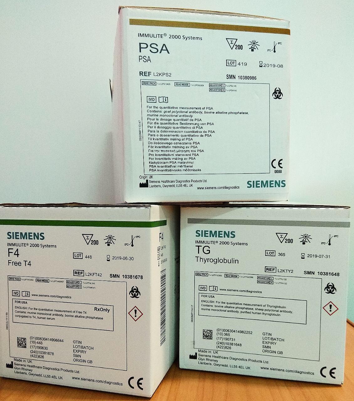 HCG und β-HCG SIEMENS IMMULITE 2000
