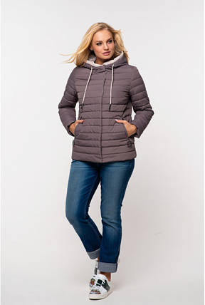 Женская стильная весенняя куртка Адриен,58-64р, фото 2
