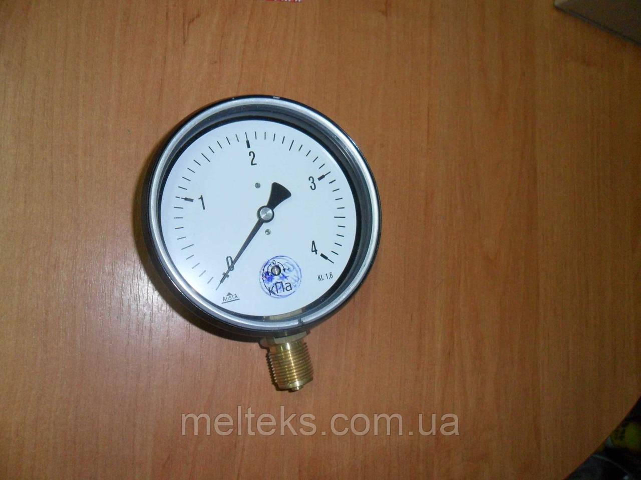 Напоромер манометр низкого давления 11МТ100 Болгария