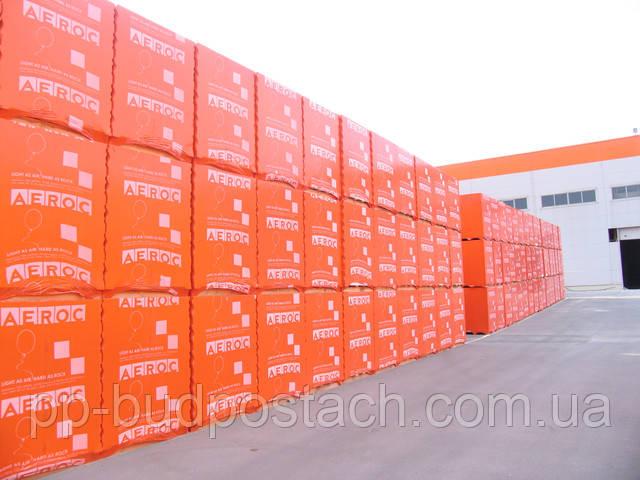 Пеноблок ― пенобетон AEROC EcoTerm ― 300 D400 B2,5 50шт/1,8/под цена с доставкой, по УКРАИНЕ